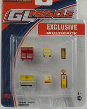 GL Muscle Series 17 / Werkstatt Set Shell 6 pcs 1:64 Greenlight