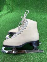 Jackson Artiste Model 1791 little girls Figure Skates Size 13.5 B Mark IV blades