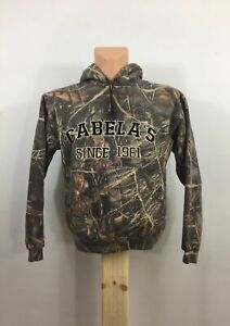 Nice Youth Unisex Camouflage CABELAS Since 1961 Hoodie Size M Hunting Outdoors