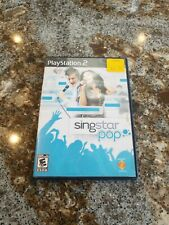 SingStar: Pop  -- Sony PlayStation 2 PS2 -- C+ CONDITION