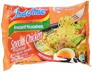 Indomie Instant Noodles Soup Special Chicken Flavor, 2.65 Ounce (Pack of 30)