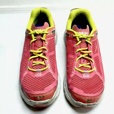 Hoka One One Clifton Sneakers Shoes Running Red Women's 9