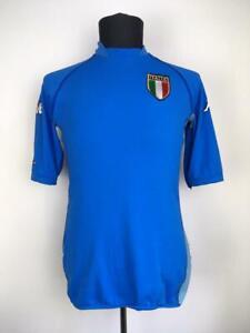 ITALY 2002/2004 HOME FOOTBALL SHIRT SOCCER JERSEY CALCIO ITALIA MAGLIA KAPPA L