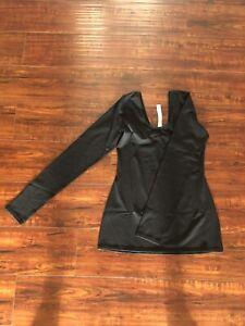 Lululemon Long Sleeve Black Top 8