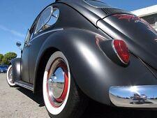 "VW Beetle Bug pre 15"" White wall Portawall Tire insert Trim set 4 Pcs Rat Rod"