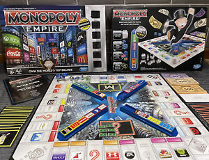 MONOPOLY EMPIRE 2014 Board Game by HASHBRO 100% Complete