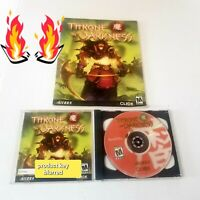 🔥 Throne of Darkness (PC, 2001) Sierra Click w/ guide