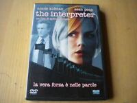 The interpreterKidman Sean Penn PollackDVDThriller lingua italiano inglese