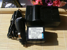 Battery for PANASONIC CGA-DU07 NV-GS150E-S NV-GS17 NV-GS180 +Charger