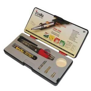 Iroda SolderPro 50W Butane  Soldering Iron Kit (T2596) PRO-50K ** GST INVOICE **
