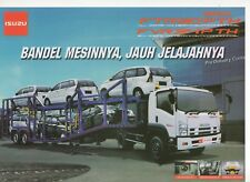Isuzu Giga FVR34 &FTR90 Tractor truck (made in Indonesia)_2018 Prospekt Brochure