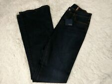Notify Denim Jean's Women's Size 26 Made In Italy Premium Iris Dark Blue Nwt