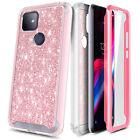For T-Mobile REVVL 4/Revvl 4+/5G Phone Case Full Body +Built-In Screen Protector