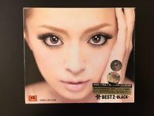 Ayumi Hamasaki - Best 2 Black - CD + 2 DVD - JPOP Music