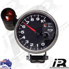 "5"" BLACK Tachometer Monster Tacho Gauge RPM Shift Light 10000 RPM"