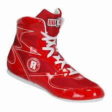 New Ringside Diablo Shoe11 Lo-Top Low Top Boxing Shoes Boots - Red / White