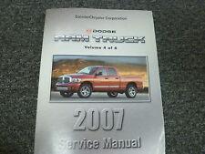 2007 Dodge Ram 1500 2500 3500 Pickup Engine Service Repair Manual ST SLT Laramie