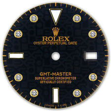 REFINED GMT MASTER 2-TONE BLACK JUBILEE DIAMOND DIAL FOR ROLEX-40