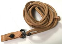 WWI WWII GERMAN P08 P-08 LUGER PISTOL LEATHER LANYARD STRAP