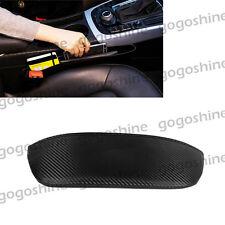 Auto Car Seat Storage Bag Carbon Fiber Catch Gap Filler Pocket Organizer Box