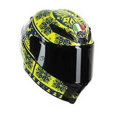 AGV Corsa Valentino Rossi VR46 Helmet,Sepang/Winter Test 2015/Snowflake,Large/LG