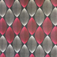 Black Red Retro Lantern Wallpaper Lines 3d Symmetry Modern Grey as Creation X 3