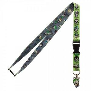 OFFICIAL DC COMICS SUICIDE SQUAD SKULL ICON ALL OVER PRINT LANYARD
