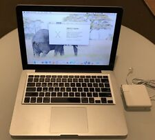 "Apple MacBook Pro A1278 13.3"" Late 2008 2.4Ghz DDR3,OSX ElCapitan"
