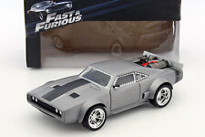 Dom's Ice Dodge Charger R/T Fast and Furious 8 silber 1:24 Jada Toys