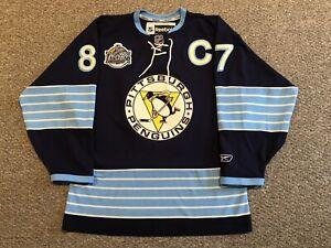 Sidney Crosby - Pittsburgh Penguins: Reebok 2011 Winter Classic Jersey sz Medium