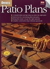Orthos Patio Plans (Orthos All About Home Improvement) by Ortho Books
