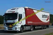 Truck Photo TR-0640 Iveco  Reg:- BN98AGV Op:- Sertrans M20 Dover Lorry Kent