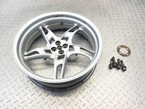 2002 02-06 BMW R1150RT R1150 RT Rear Rim Wheel 17x5.0 Video Straight OEM