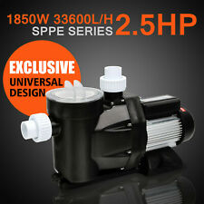 2.5HP SWIMMING POOL SINGLE SPEED 115V1850W 8880GPH SPA FILTER WATER PUMP