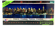 New York New York Panoramic 750 Pieces Puzzle Over 3 Feet Wide New Made in USA