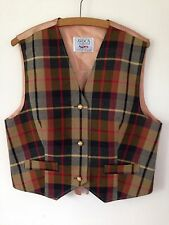Women's Checked Waistcoat
