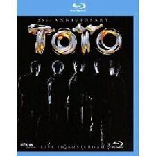 """TOTO """"LIVE IN AMSTERDAM""""  BLU-RAY NEU"""