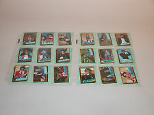 MICHAEL JACKSON 2nd SERIES CARDS AND STICKERS 34-66 TOPPS 1984 MINT