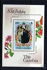 Gambia 1985 Life & Times Queen Mother MS589  MNH