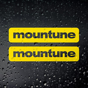 Mountune Sticker Decal x 2 - Fiesta Focus ST RS Tuning Performance