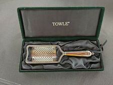 Towle Old Colonial Silver plated Cheese Grater scarce factory made