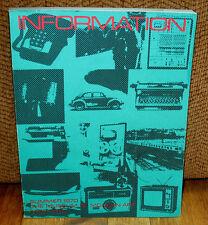 Information The Museum of Modern Art 1970 Ed Ruscha Bernd Hilla Becher Jeff Wall