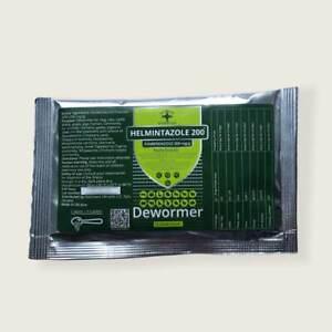 Helmintazole 200 (20%)  25 Gr Powder De-wormer Panacur Safe Guard Dog