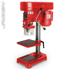 230V 350W Electric Stand Table Press Bench Pillar Drill 5 Speed 580-2650 RPM Red