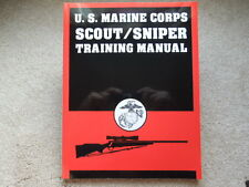 U.S. Marine Corps Scout/Sniper Training   Book 183 pages NEW 1994