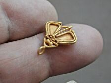 CIRCA 200 - 300 AD ANCIENT ROMAN GOLD CICADA FLY AMULET WEARABLE