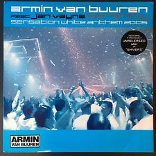 "Armin Van Burren ~ Sensation White Anthem 2005/Shivers Remix 12"" ~ FAST SHIPPING"