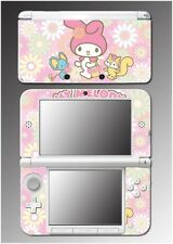 My Melody and Friends Bunny Kitty Video Game Decal Skin Nintendo 3DS XL