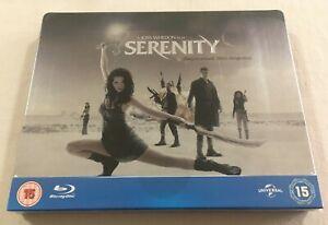 Serenity (2005) - Universal 100th Anniversary Limited Steelbook Blu-Ray | New