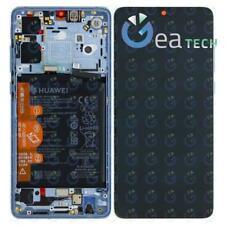 Display LCD Service Pack Originale + Batteria Per HUAWEI P30 ELE-L09 Br. Crystal